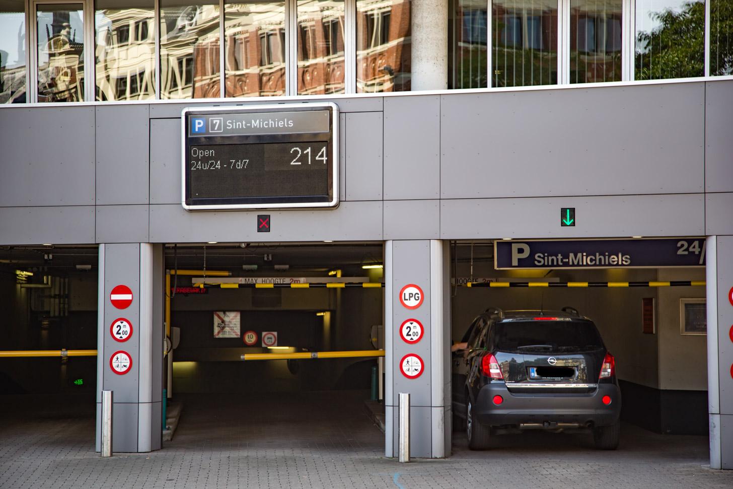 parkeren in Gent
