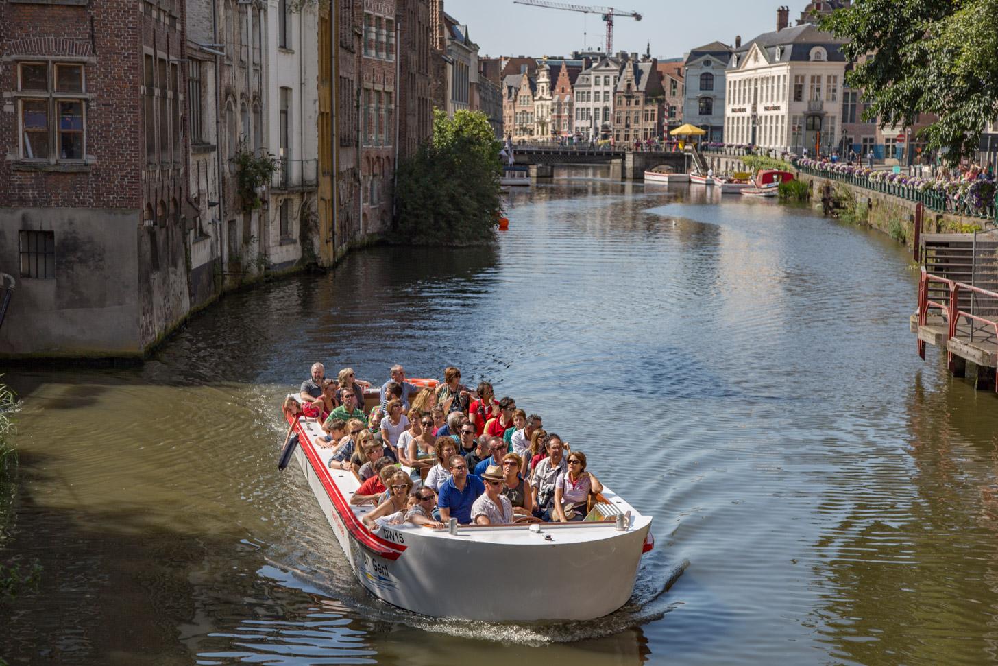 Rondvaart in Gent