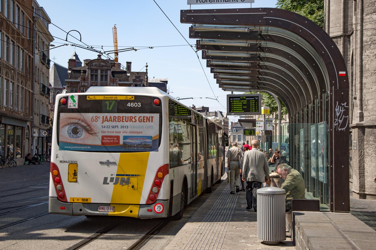 openbaar vervoer in Gent
