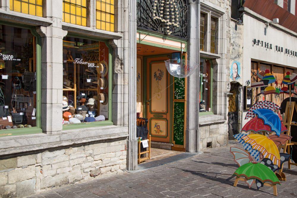 winkelen in Gent